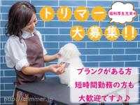 トリマーさん大募集!【充実の福利厚生】【エステカーサ 青梅インター店】